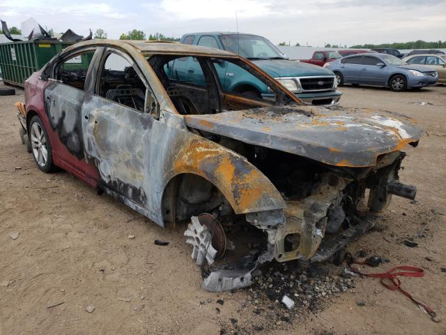 Vehiculos salvage en venta de Copart Louisville, KY: 2014 Chevrolet Cruze LTZ