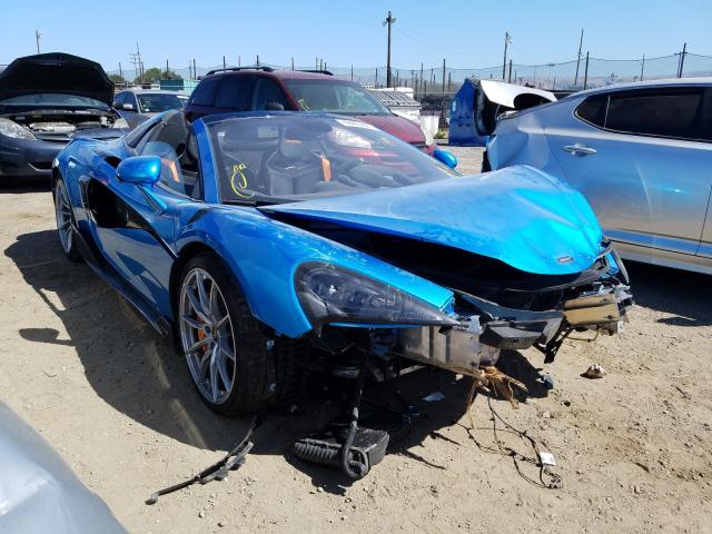 Mclaren Automotive salvage cars for sale: 2020 Mclaren Automotive 600LT