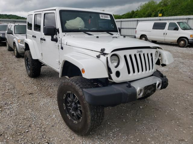 Salvage cars for sale from Copart Prairie Grove, AR: 2014 Jeep Wrangler U
