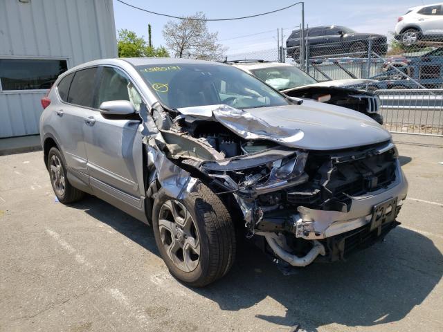 Honda Vehiculos salvage en venta: 2017 Honda CR-V EXL