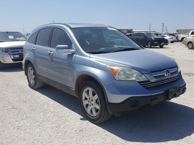 Salvage cars for sale from Copart San Antonio, TX: 2009 Honda CR-V EXL