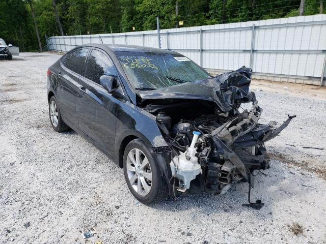 Salvage cars for sale from Copart Loganville, GA: 2012 Hyundai Accent GLS