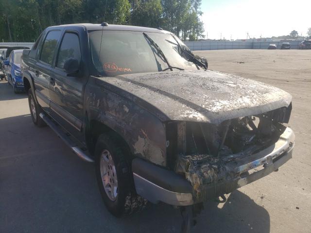 Vehiculos salvage en venta de Copart Dunn, NC: 2004 Chevrolet Avalanche