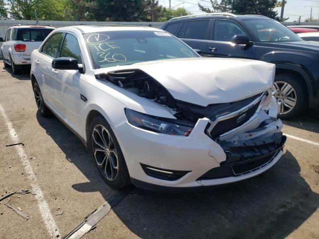 Salvage cars for sale at Moraine, OH auction: 2017 Ford Taurus SHO