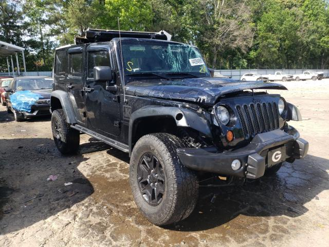 Salvage cars for sale from Copart Austell, GA: 2013 Jeep Wrangler U