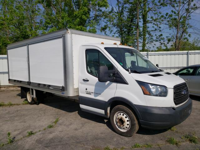 Salvage cars for sale from Copart Marlboro, NY: 2016 Ford Transit T