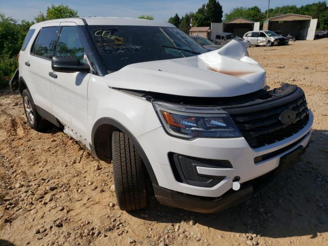 Salvage cars for sale from Copart China Grove, NC: 2018 Ford Explorer P