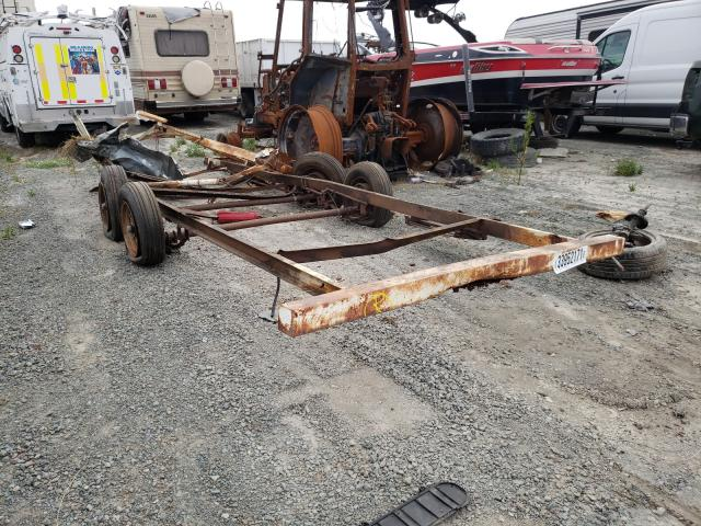 Salvage cars for sale from Copart San Diego, CA: 1985 Taur Trailer