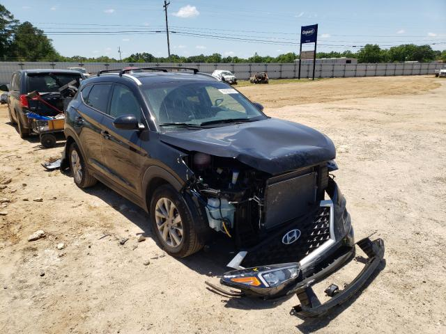 Salvage cars for sale from Copart Newton, AL: 2021 Hyundai Tucson Limited
