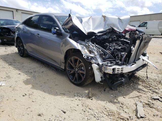 Salvage cars for sale from Copart Gainesville, GA: 2018 Honda Civic Sport
