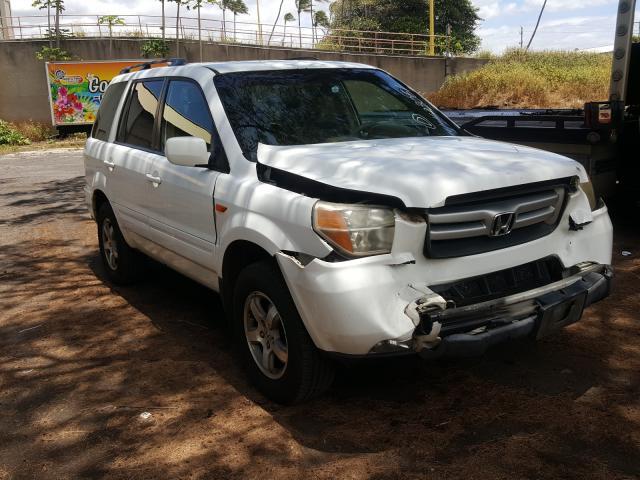 Salvage cars for sale from Copart Kapolei, HI: 2008 Honda Pilot EXL