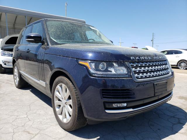 Land Rover Range Rover salvage cars for sale: 2017 Land Rover Range Rover