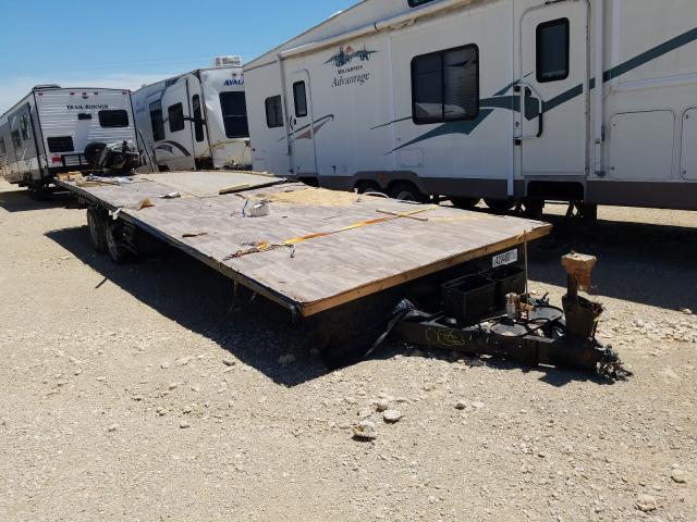 Salvage cars for sale from Copart Abilene, TX: 2015 Heartland Trailer