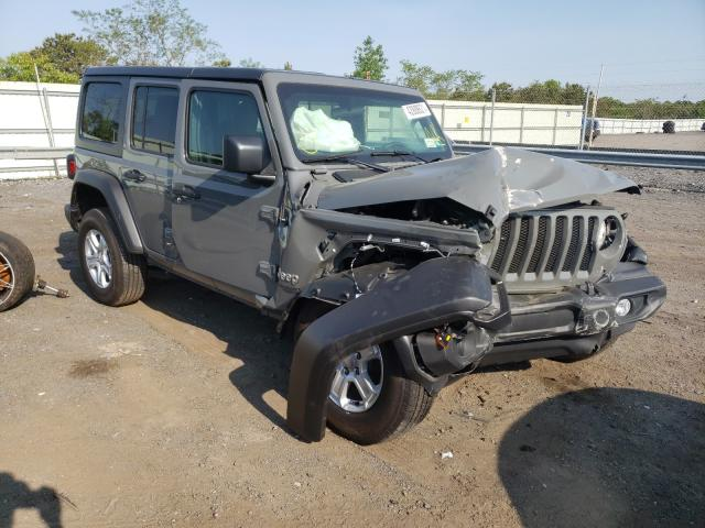 Salvage cars for sale from Copart Brookhaven, NY: 2021 Jeep Wrangler U