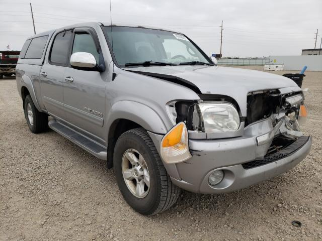 Salvage cars for sale from Copart Bismarck, ND: 2005 Toyota Tundra DOU