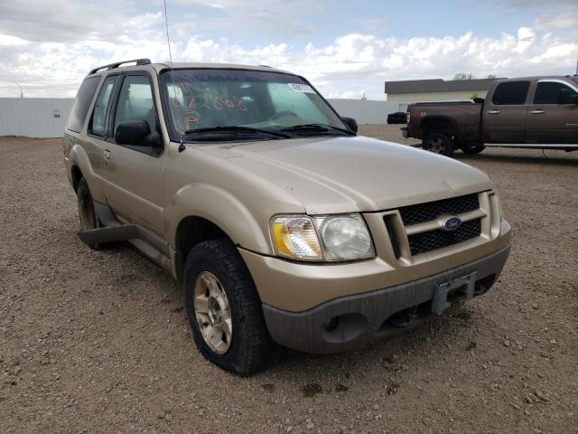 Salvage cars for sale from Copart Bismarck, ND: 2002 Ford Explorer S