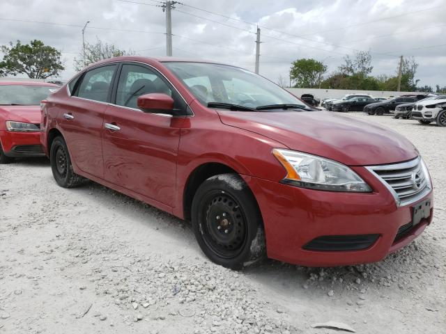 Salvage cars for sale from Copart Homestead, FL: 2014 Nissan Sentra S