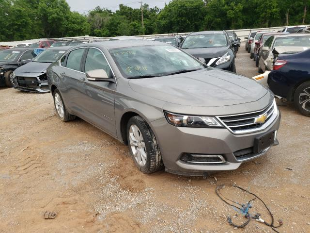 Salvage cars for sale from Copart Oklahoma City, OK: 2019 Chevrolet Impala LT
