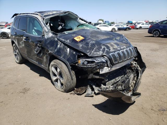 Salvage cars for sale from Copart Bakersfield, CA: 2019 Jeep Cherokee L