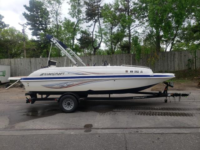 Salvage boats for sale at Ham Lake, MN auction: 2017 Starcraft Boat