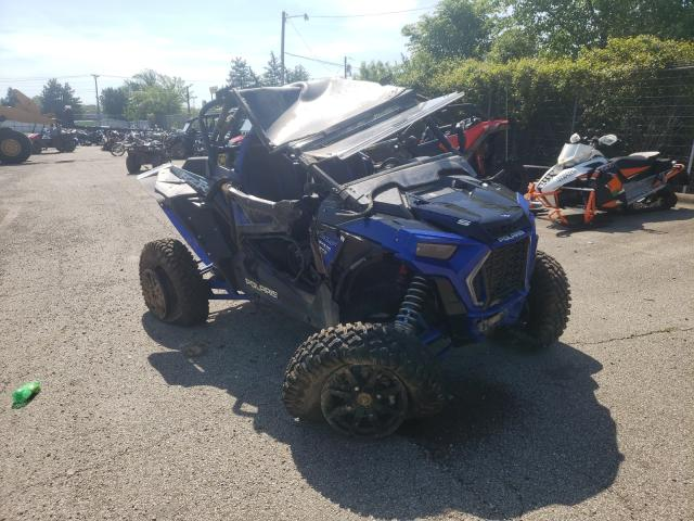 Salvage cars for sale from Copart Moraine, OH: 2019 Polaris RZR XP Turbo