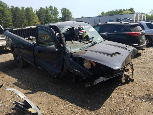 Salvage cars for sale from Copart Lyman, ME: 2006 GMC New Sierra