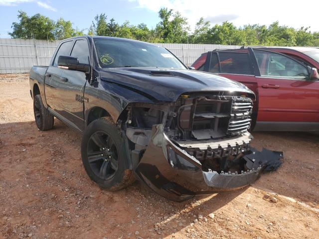 Salvage cars for sale from Copart Oklahoma City, OK: 2015 Dodge RAM 1500 Sport