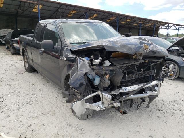 Salvage cars for sale from Copart Cartersville, GA: 2015 Ford F150 Super
