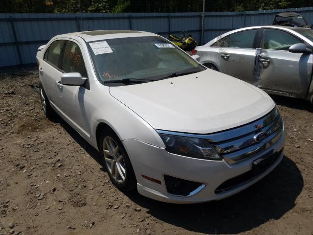 Salvage cars for sale from Copart Lyman, ME: 2012 Ford Fusion SEL