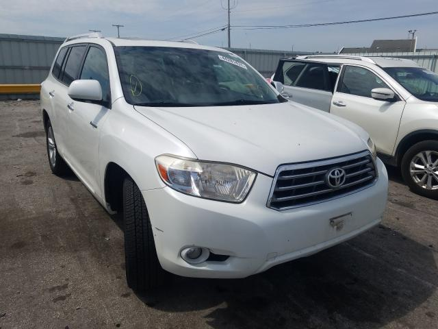 Salvage cars for sale from Copart Dyer, IN: 2009 Toyota Highlander