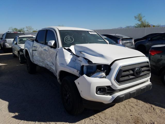 Salvage cars for sale from Copart Tucson, AZ: 2021 Toyota Tacoma DOU