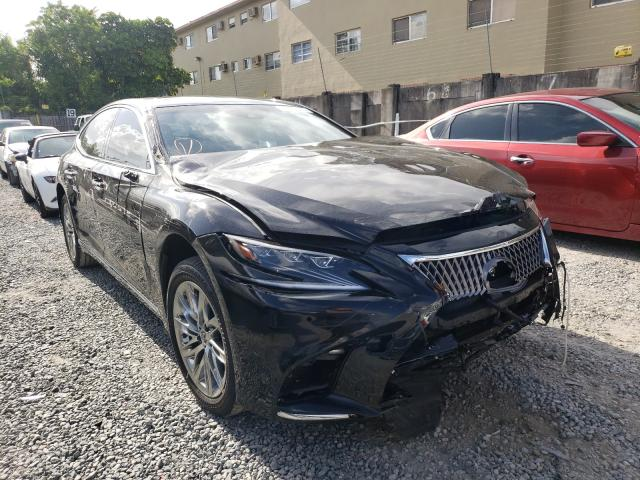 Salvage cars for sale from Copart Opa Locka, FL: 2018 Lexus LS 500 Base