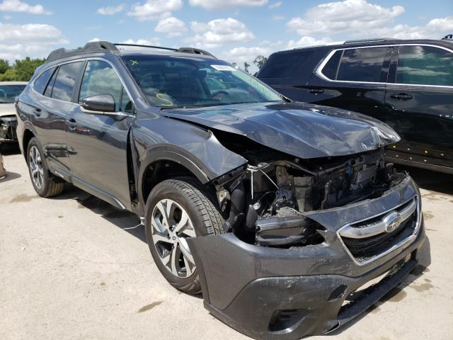 Salvage cars for sale from Copart Riverview, FL: 2020 Subaru Outback LI