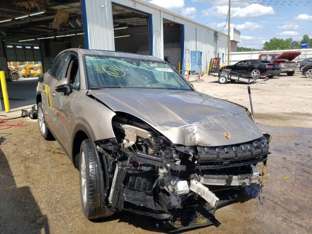 Salvage cars for sale from Copart Montgomery, AL: 2019 Porsche Cayenne S
