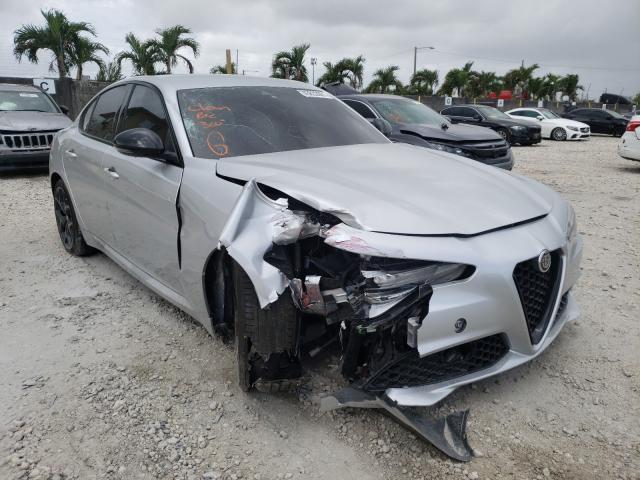 Salvage cars for sale from Copart Opa Locka, FL: 2020 Alfa Romeo Giulia