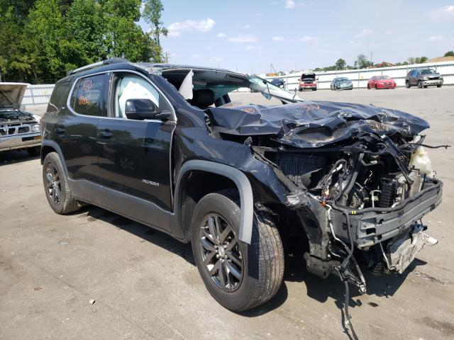 Salvage cars for sale from Copart Dunn, NC: 2017 GMC Acadia SLT