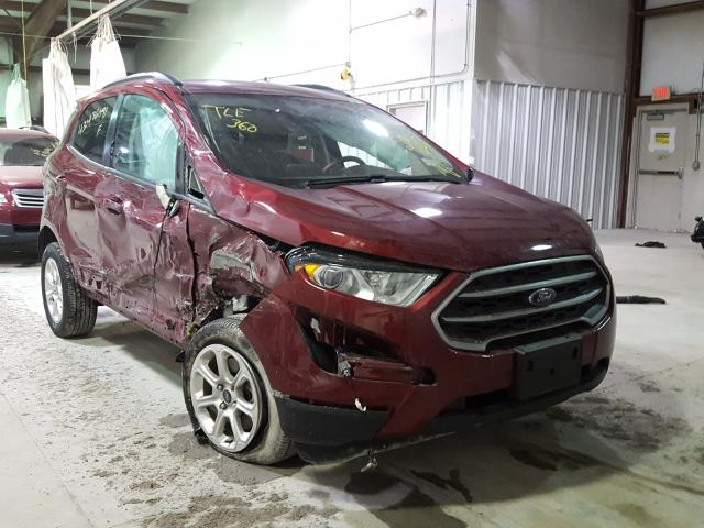 Salvage cars for sale from Copart Leroy, NY: 2020 Ford Ecosport S