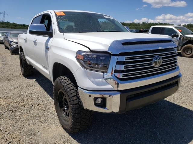Salvage cars for sale from Copart Anderson, CA: 2020 Toyota Tundra CRE