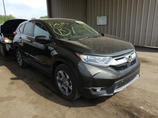 Salvage cars for sale from Copart Fort Wayne, IN: 2017 Honda CR-V EXL