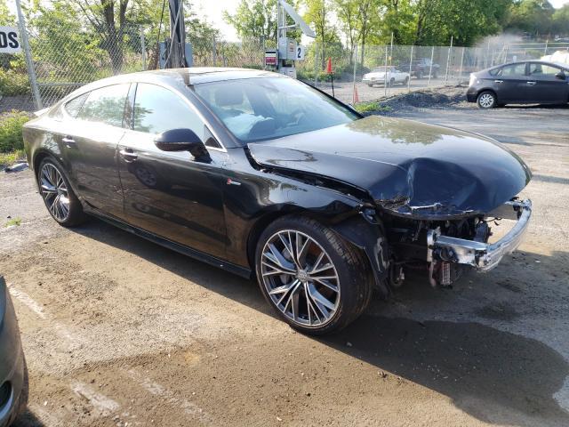 Audi salvage cars for sale: 2018 Audi A7 Premium