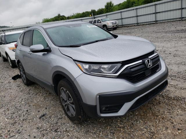 Salvage cars for sale from Copart Prairie Grove, AR: 2020 Honda CR-V EXL