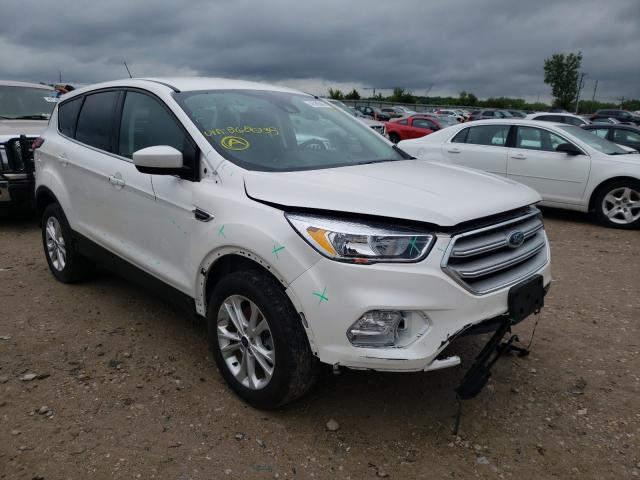 Salvage cars for sale from Copart Kansas City, KS: 2019 Ford Escape SE