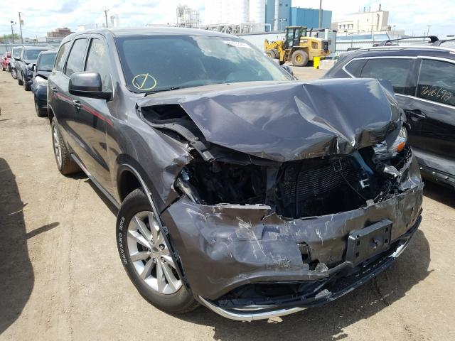 Salvage cars for sale from Copart Chicago Heights, IL: 2017 Dodge Durango SX