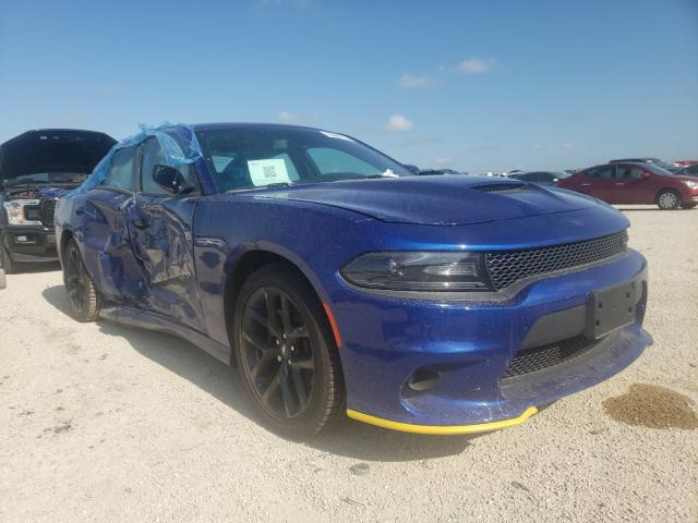 Salvage cars for sale from Copart San Antonio, TX: 2021 Dodge Charger GT