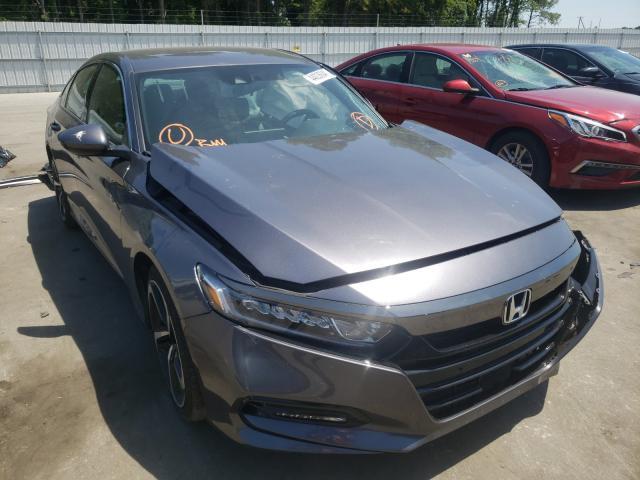 Vehiculos salvage en venta de Copart Dunn, NC: 2020 Honda Accord Sport