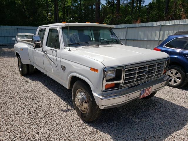 Salvage cars for sale from Copart Knightdale, NC: 1986 Ford F350