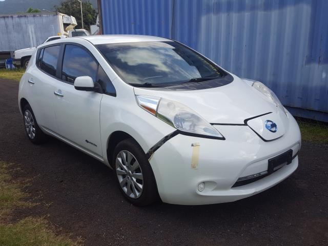 Salvage cars for sale from Copart Kapolei, HI: 2013 Nissan Leaf S