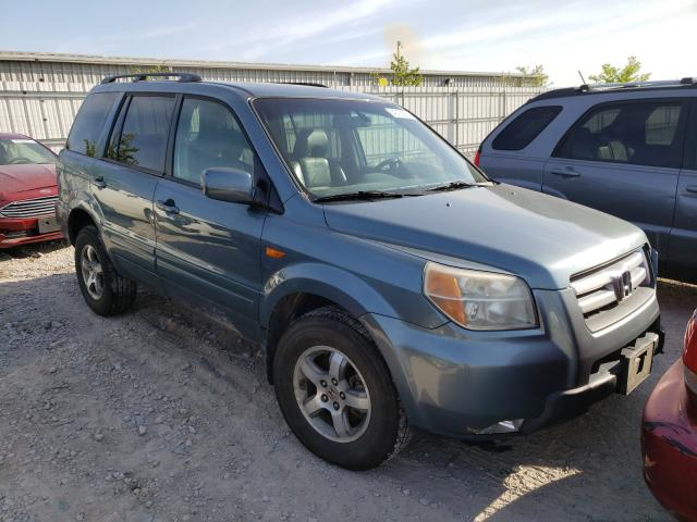 Salvage cars for sale from Copart Walton, KY: 2007 Honda Pilot EXL