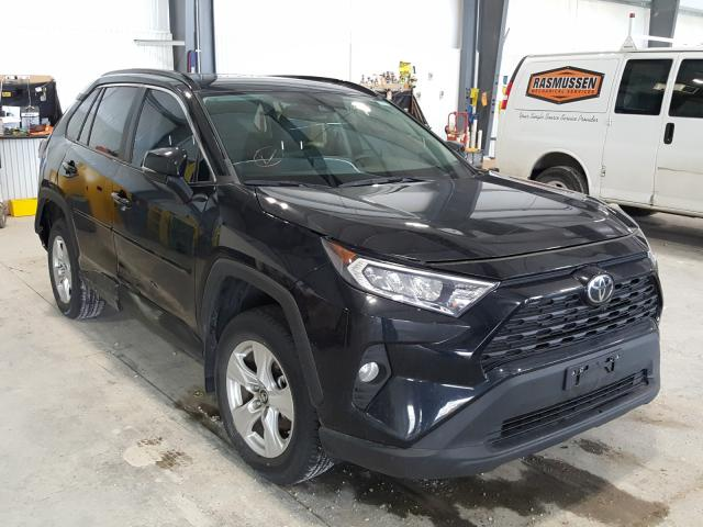 Salvage cars for sale from Copart Greenwood, NE: 2019 Toyota Rav4 XLE