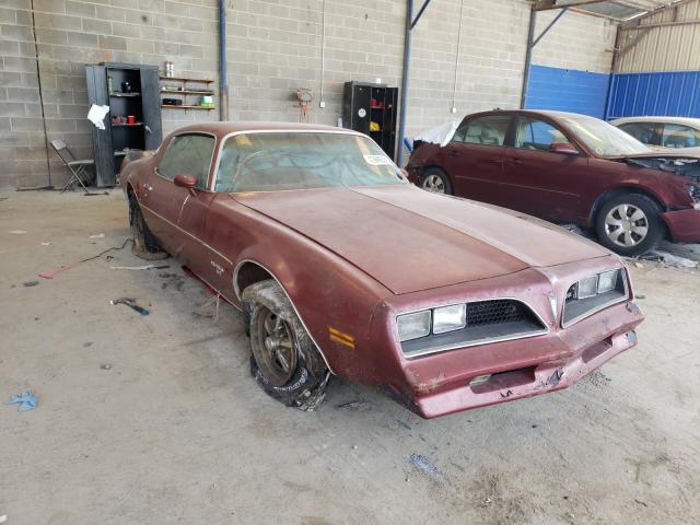 Salvage cars for sale from Copart Cartersville, GA: 1978 Pontiac FBD Esprit
